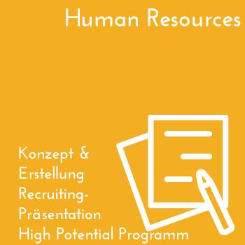 HR Recruiting für High Potential Förderprogramm