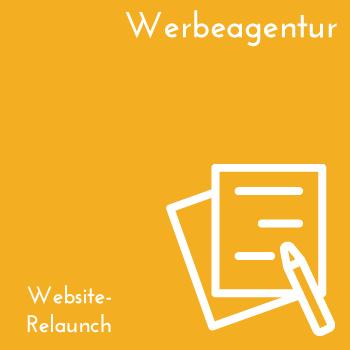 Websiterelaunch Werbeagentur