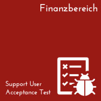 Support User Acceptance Test